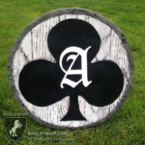 Ace of Clubs Shield for Belegarth