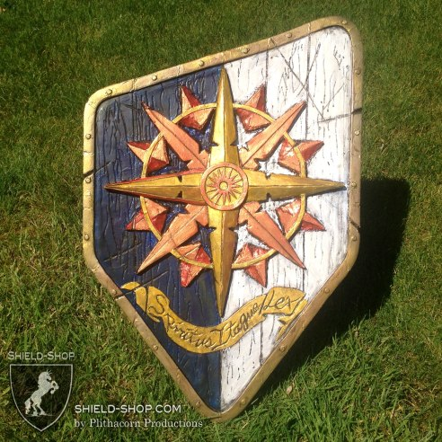 Western Compass-Rose shield for Belegarth