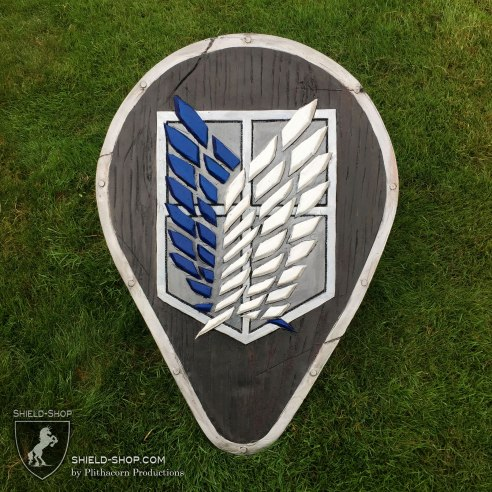 Attack on Titan Teardrop Shield
