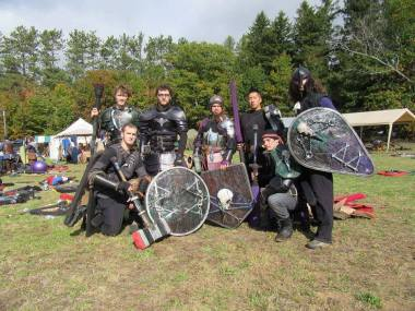 Unit pic with our shields