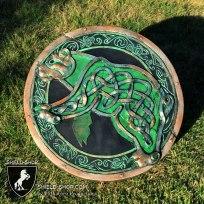 Celtic Bear punch shield for Alliance LARP