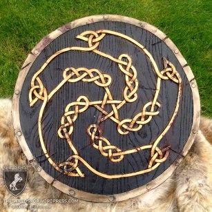 Celtic-knot Catalyst shield