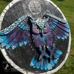 Celtic owl side view