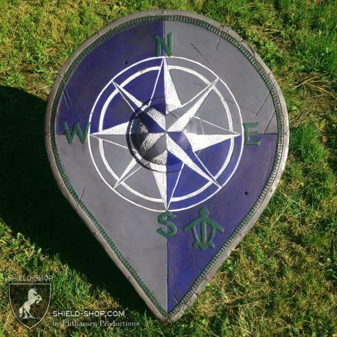 Varangian Guard inspired shield for Dagorhir. By the Shield-Shop.