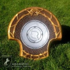 Back detail of DOTA2 shield