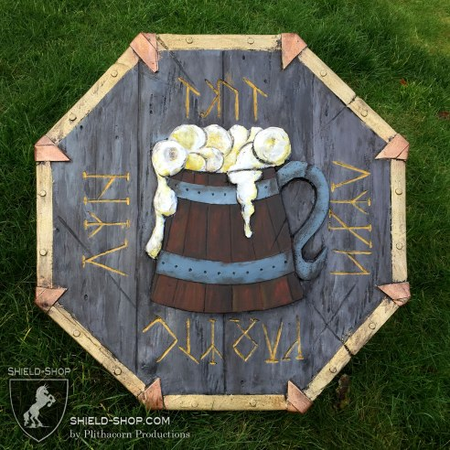 Dwarvish Drunken Master Shield