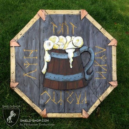 Dwarvish Drunken Master Shield