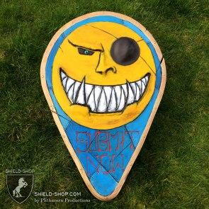 Smiling Malark shield