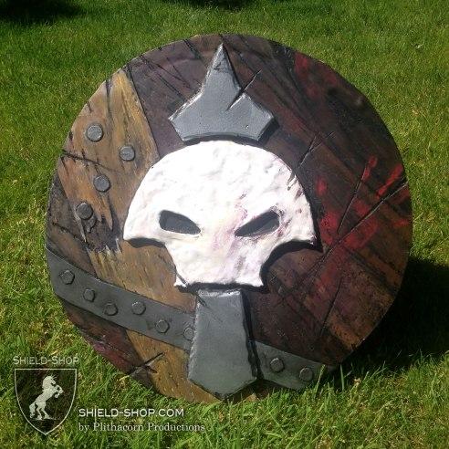 Horde themed shield for Belegarth