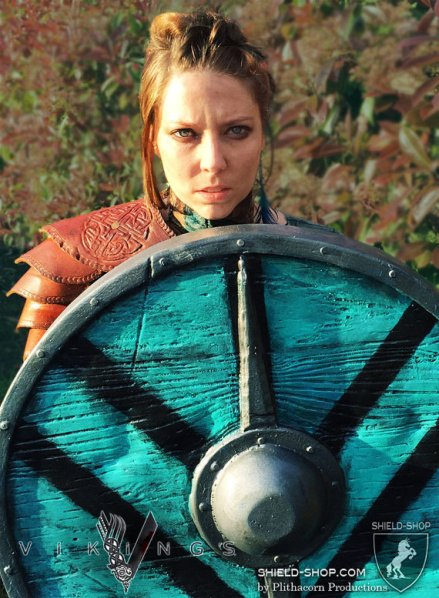 Cosplay of Lagertha with Shield (#5.)