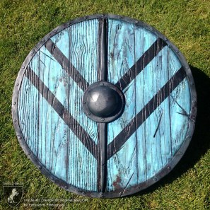 "Norse ""Vikings"" themed shield"