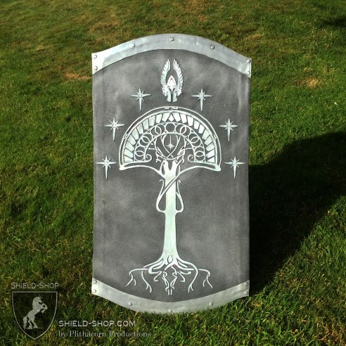 Lord of the Rings Fountain Guard Tower Shield