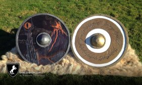 Lord of the Rings Shield Pair, for Battle for the Ring 2015 Prizes