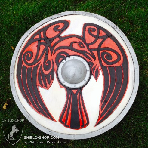 Norse Raven punch shield