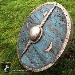 Ragnar's shield side view