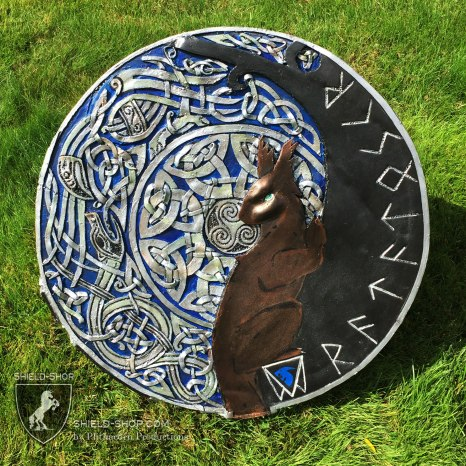 Ratatoskr Shield, custom comission