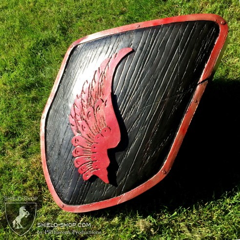 Red-and-Back-Wing-detail-Sheild-Shop