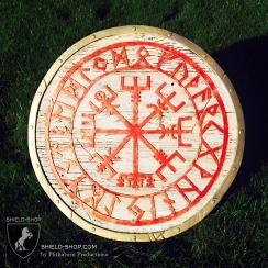 Runic Compass Shield for Belegarth