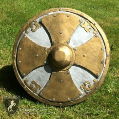 Soldiers Shield in Silver and Gold