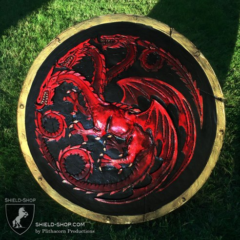 House Targaryen Game of Thrones Shield