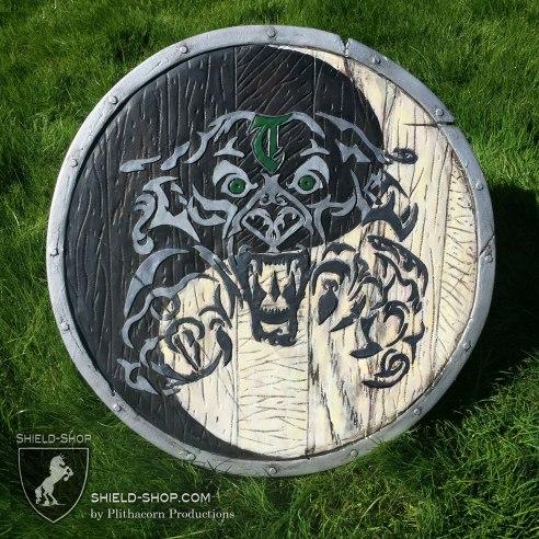 Tribal Lion Shield