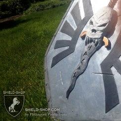 Urk Warmaster shield detail
