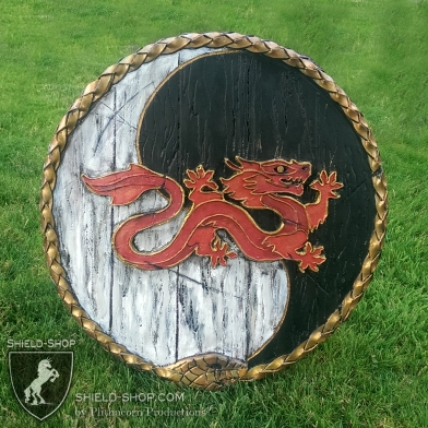 Wheel of Time punch shield for Amtgard