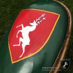 Kite shield detail