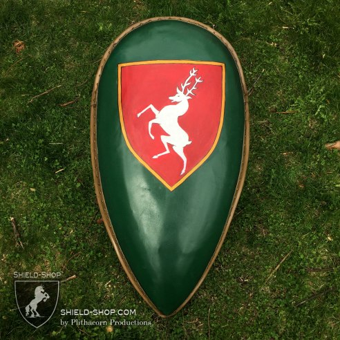 White Stag Kite Shield
