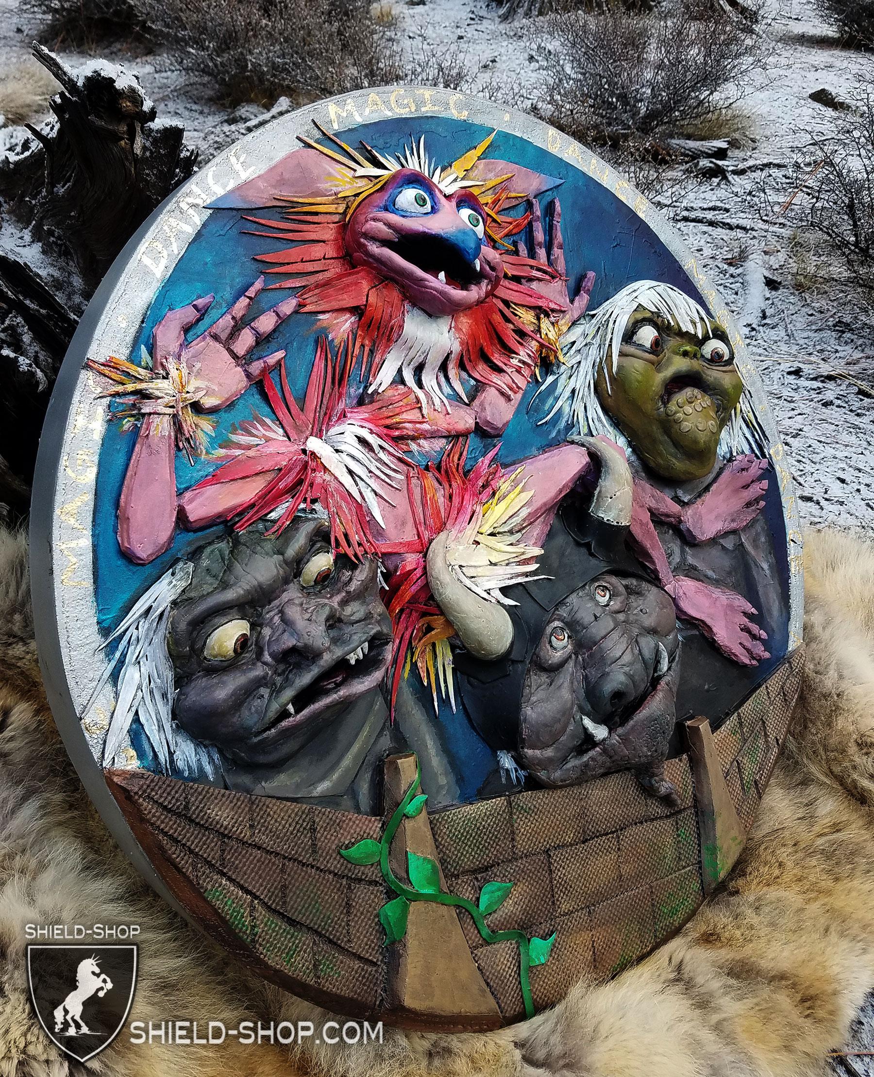 Side Angle Labyrinth Fan Art Shield Shop Shield Shop